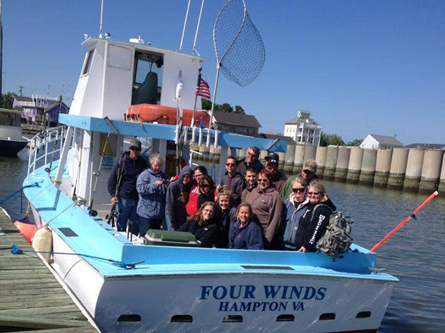 chesapeake bay family fishing