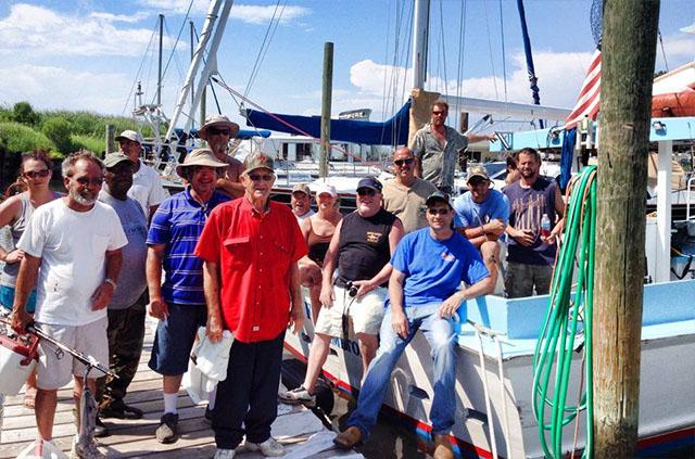 Chesapeake bay fishing charter gallery four winds chartering for Chesapeake beach fishing charters